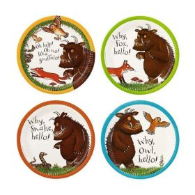 The Gruffalo Party Paper Plates, Pack of 12