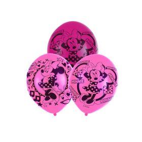 "Disney Minnie Mouse Pink Latex Balloons 11"", pk6"