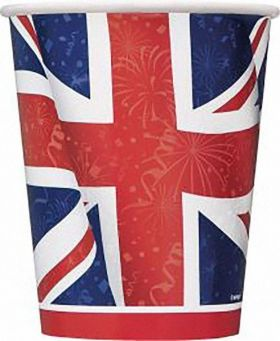 Best of British Party Cups 270ml, pk8