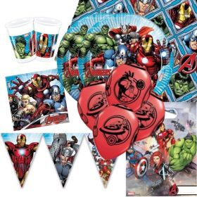Mighty Avengers Deluxe Party Pack for 16