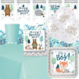 Bearly Wait Baby Shower Ultimate Party Pack for 8
