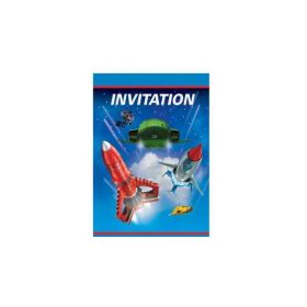 Thunderbirds Party Invitations