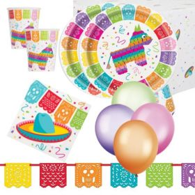 Mexican Fiesta Party Deluxe Pack for 16