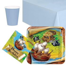 Pirate Party Tableware Packs