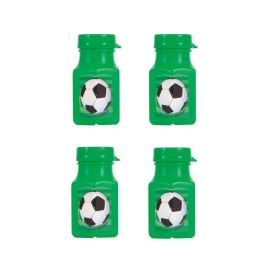 3D Soccer Mini Bubbles, pk4