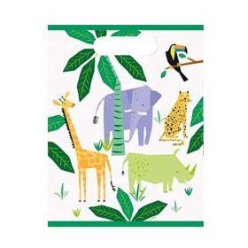 Animal Safari Party Bags, pk8