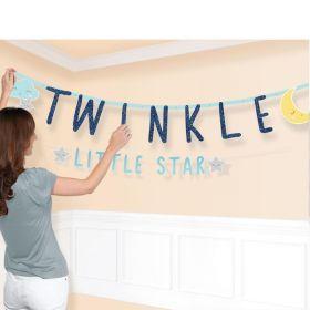 Twinkle Little Star Combo Letter Banner
