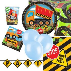 Construction Ultimate Party Pack for 8