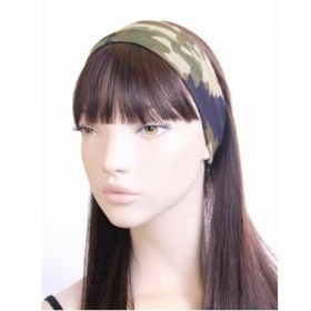 Camouflage Knitted Fabric Bandeau