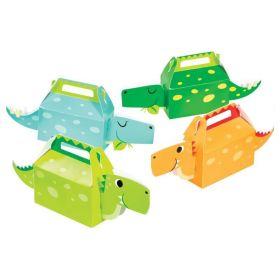 Dino Party Boy 3D Treat Boxes, pk4