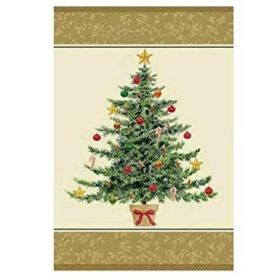 Classic Victorian Tree Party Tablecover 1.37m x 2.13m