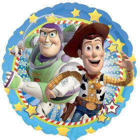 Toy Story Woody & Buzz Foil Party Balloon 17""