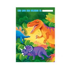 Dinosaur (Prehistoric) Party Bags, 8pk