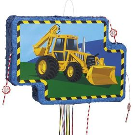 Construction Vehicle Pop Out Pinata