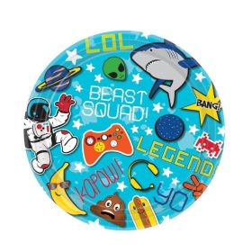 Epic Party Dessert Plates 18cm, pk8