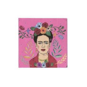 Frida Kahlo Cocktail Napkins 25cm x 25cm, pk20