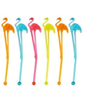 Flamingo Stirrers, pk6