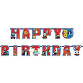 Thomas & Friends Add an Age Letter Jumbo Banner 1.8m