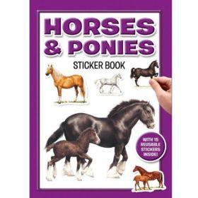 Horses & Ponies Sticker Book