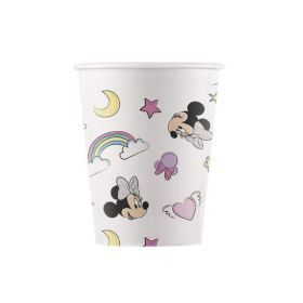 Minnie Unicorn Dreams Party Paper Cups 200ml, pk8