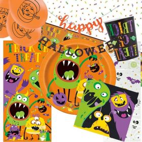 Silly Halloween Monsters Ultimate Pack for 8