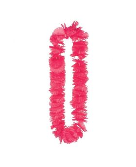 Hawaiian Summer Breeze Pink Lei 1m