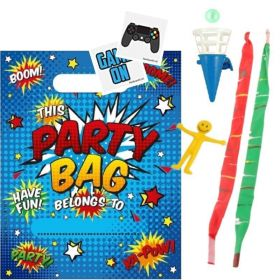 Boys Pre Filled Party Bags