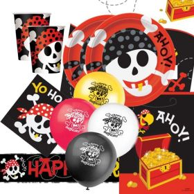 Pirate Fun Deluxe Party Pack for 16