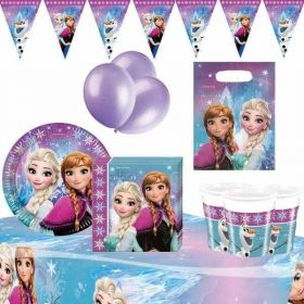 Frozen Northern Lights Ultimate Party Supplies Kit for 8