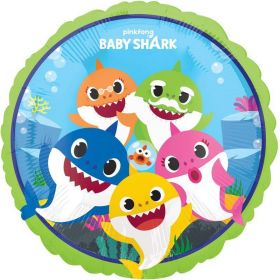Baby Shark Foil Balloon 17""