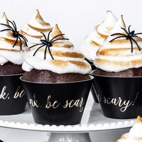 Trick or Treat Party Cupcake Wrappers, pk6