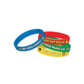 Paw Patrol Rubber Bracelets pk4