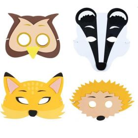 Wild Woodland Soft Masks