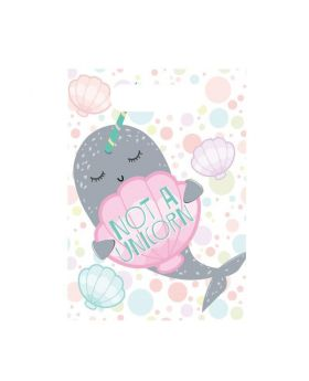 Narwhal Party Bags, pk8