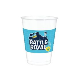 Battle Royal Plastic Cups 473ml, pk8