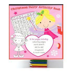 Christmas Girls Activity Book