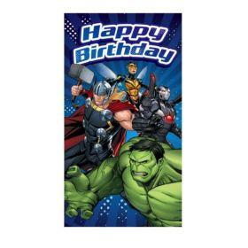 Avengers 4th Birthday Card