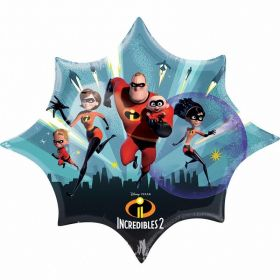The Incredibles 2 SuperShape Foil Balloon 35''