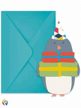 Arctic Party Invitations, pk6