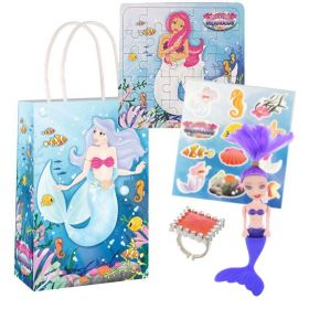 Mermaid Pre Filled Paper Party Bags (no.3), One Supplied