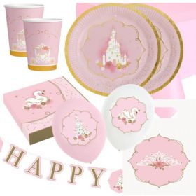 Princess for a Day Party Deluxe Pack for 16