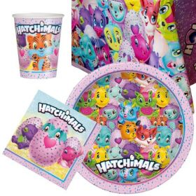 Hatchimals Party Tableware Party Pack for 8