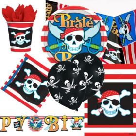 Pirate Party Ultimate Party Pack for 8