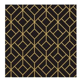 Roaring 20's Party Napkins 33cm x 33cm, pk16