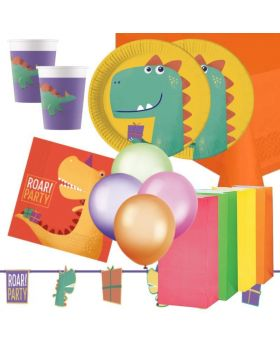 Dinosaur Roar Party Deluxe Pack for 16