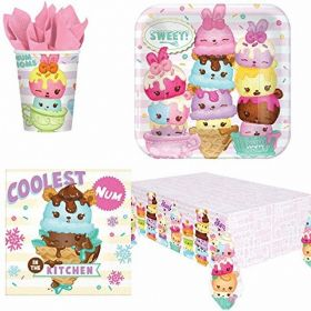 Num Noms Party Tableware Pack for 8
