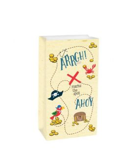 Ahoy Birthday Paper Treat Bags, pk8