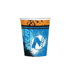 NERF Party Cups 250ml, pk8