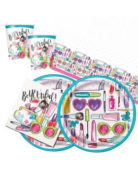 SPA Party Tableware Pack for 16