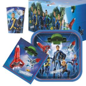 Thunderbirds Party Tableware Pack for 8